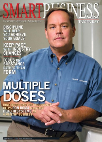 Saint Pete Photo Shoots the Cover of Smart Business Magazine