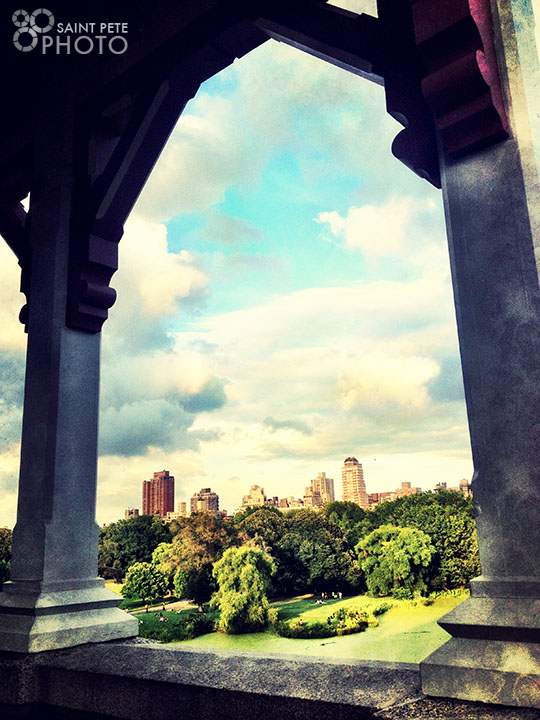 An archway in Central Park.