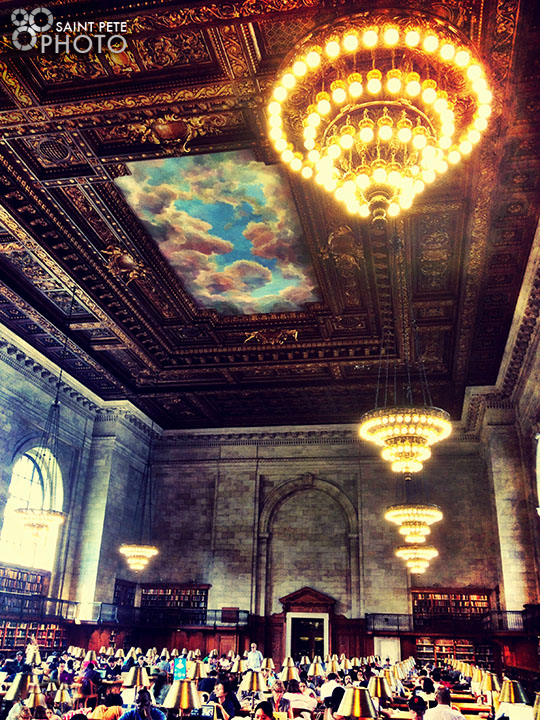 The NYC library.